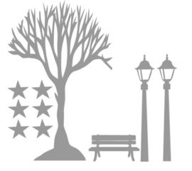 Raamstickers uitbreiding kale boom