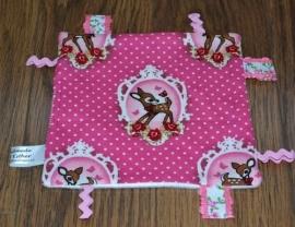 Labeldoekje Bambi Rose