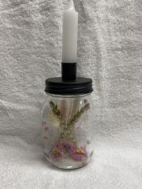 kandelaar voor droogbloemen