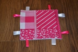 Labeldoekje Patchwork Rose