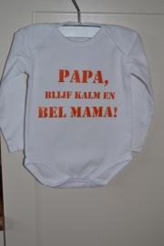 """Romper """"papa, bel mama"""""""