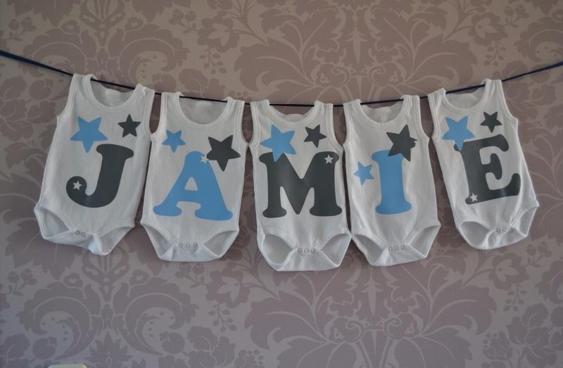 Geboorte romperlijn Jamie (5 rompers)