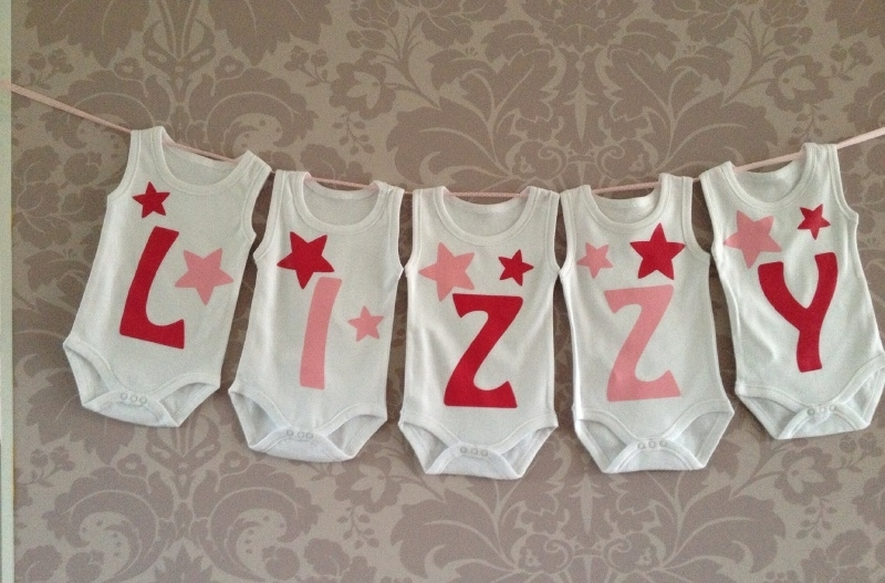 Geboorte romperlijn Lizzy (5 rompers)
