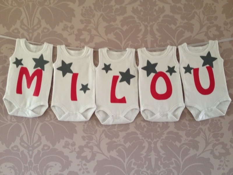 Geboorte romperlijn Milou (5 rompers)