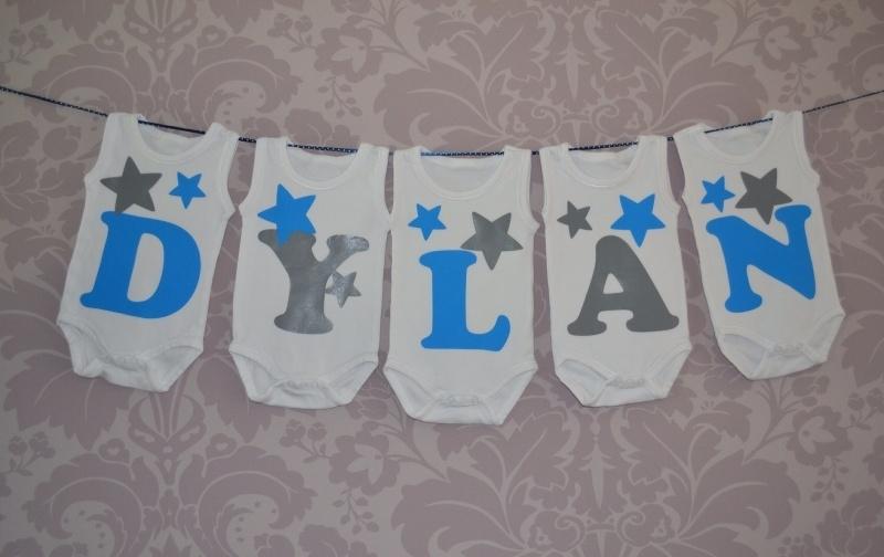 Geboorte romperlijn Dylan (5 rompers)