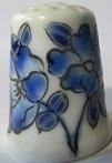 Vingerhoed - 090 - bloemen - Thimble - flowers
