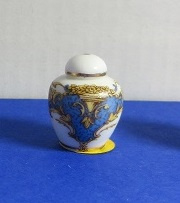 Miniatuur bolle Vaas, medium - 4 - Miniature round Vase, medium