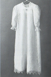 Cobweb lace -  Christening Robe