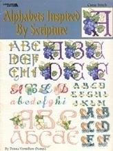 Leisure Arts - Donna Vermillion - Alfabetten geïnspireerd door de Bijbel - ABC - Alphabeths Inspired by Scripture