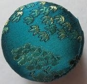 Little box round - blue/green