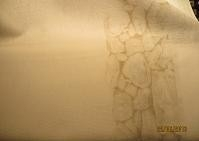Linen bleached with stone print 27ct - 46 cm