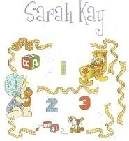 Sarah Kay - Baby Sampler with Numbers - aida