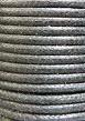 Wasdraad zwart - 2 mm - Wax cord - black - 5 meter