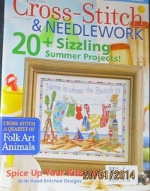 Cross-Stitch & Needlework juli 2009 - July 2009