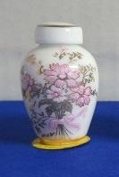 Miniatuur bolle Vaas, hoog - 02 - Miniature round Vase, high