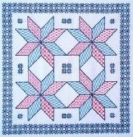Butterfly Stitches - Blackwork - De sterren zien - Seeing Stars