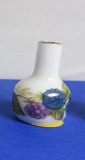 Miniatuur bolle Vaas met hals - 11 - Miniature round Vase with bottle neck