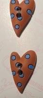Knopen - Harten - Hearts I