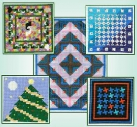 Pine Glen - Quilts in Cross Stitch