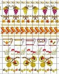 Bonheur des Dames - Autumn Motifs  no. 33