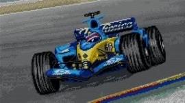 Eder - Fernando Alonso Renault - Racing car