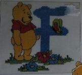 Disney - Winnie - Letter F aida