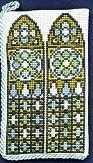 Brillenkoker - Gotisch Raam - Spectale Case - Cothic Window  aida
