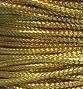 Golden cord - 2 mm