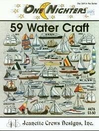 Jeanette Crews Designs - One Nighters - 59 Water Craft
