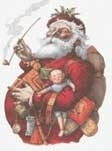 Scarlet Quince - Thomas Nast - Merry Old Santa Claus