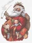 Scarlet Quince - Thomas Nast - Gelukkige Oude Kerst Man - Merry Old Santa Claus
