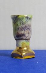 Miniatuur Vaas met gouden voet - 01 - Miniature Vase with Golden base