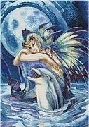 Kustom Krafts - Jody Bergsma -  Fantasea - Dolphin Fairy