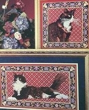 Cross My Haert - The Tapestry Collection - Black & White Cats