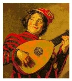 CSPG - Frans Hals - Jester with a lute