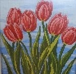 Red Tulips - aida