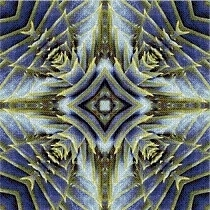 Cross Stitch Collectibles - Fractal 091