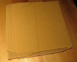 Zakdoek vierkant geel -  Handkerchief sq yellow