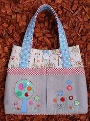 Tote Bag - Flower Garden