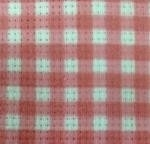 Checks red 14 ct aida -  36 x 47 cm