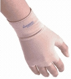 Handeze - Handschoen - maat 2 - beige - Glove - size 2