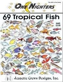 Jeanette Crews Designs - One Nighters - 69 Tropische Vissen - 69 Tropical Fish