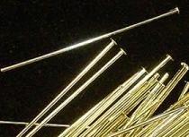 Kettelstift met kop - 42 mm -  Head pin