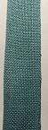 Linen turquoise  27ct evenwave - 2.5 cm