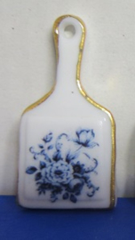 Miniature Delft Blue Cheeseboard - 1