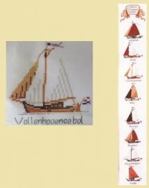 Schellenkoord - Oude Zeilschepen - Bell Pull - Old Sailing Ships