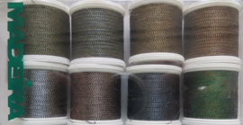 Metallic Soft garen - 8 stuks - 8011 - Metallic Soft threads - 8 pcs