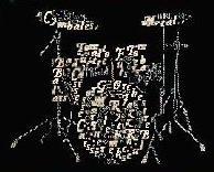 DHC - Letters - Drum stel - Drum Set