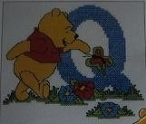 Disney - Winnie - Letter Q aida