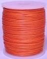 Wasdraad rood - 1 mm - Wax cord red - 5 meter